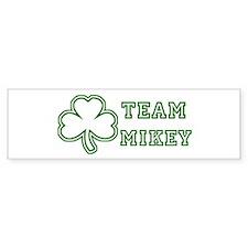 Team Mikey Bumper Car Sticker