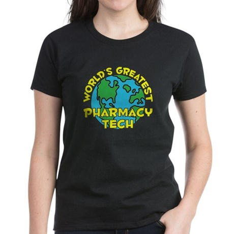 World's Greatest Pharm.. (H) Women's Dark T-Shirt