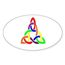 Wiccan Pride Oval Decal