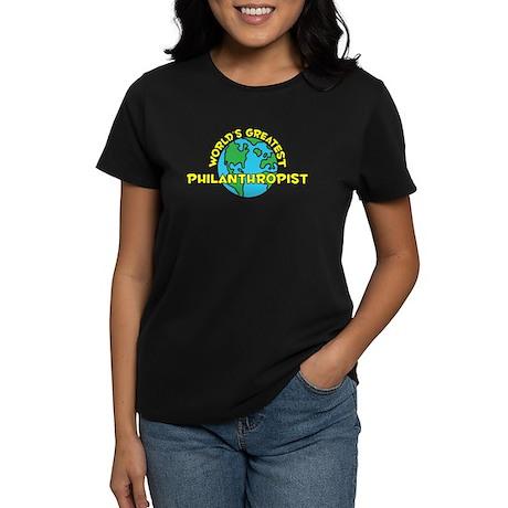 World's Greatest Phila.. (H) Women's Dark T-Shirt