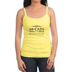 McCain 2008: He wins, we lose Jr.Spaghetti Strap
