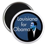 Louisiana for Obama Campaign Magnet
