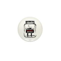 Contain McCain (in a jar) Mini Button (10 pack)