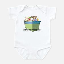 I Love My Accountant Infant Bodysuit