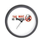 The Mac is whack Wall Clock