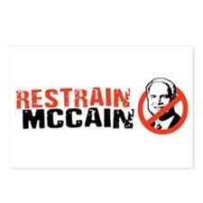 Restrain McCain Postcards (Package of 8)