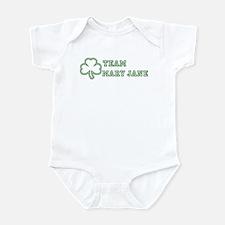 Team Mary Jane Infant Bodysuit
