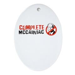 Anti-McCain Oval Ornament