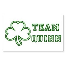 Team Quinn Rectangle Decal