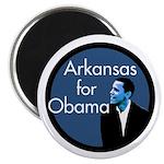Arkansas for Barack Obama Campaign Magnet
