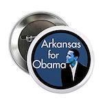 Arkansas for Obama Campaign Button