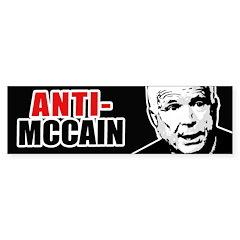 ANTI-MCCAIN Bumper Bumper Sticker