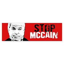 STOP MCCAIN Bumper Bumper Bumper Sticker