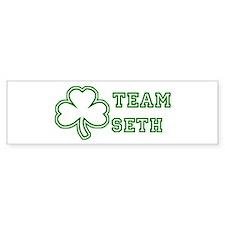 Team Seth Bumper Bumper Sticker