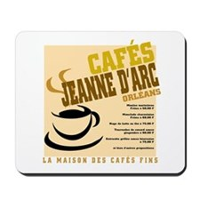 French Cafe Mousepad