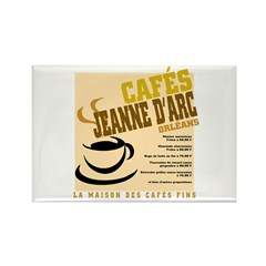 French Cafe Rectangle Magnet (10 pack)