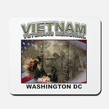 Vietnam Veterans' Memorial Mousepad