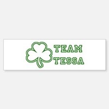 Team Tessa Bumper Car Car Sticker