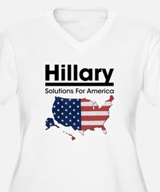 Hillary: Solutions For Americ T-Shirt
