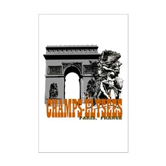Champ Elysees Paris Posters