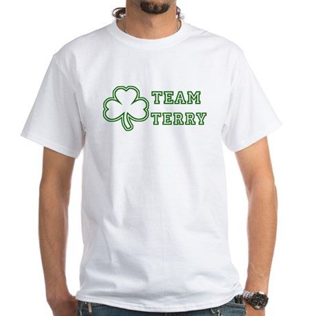 Team Terry White T-Shirt