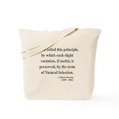 Charles Darwin 9 Tote Bag