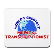 World's Greatest Medic.. (E) Mousepad