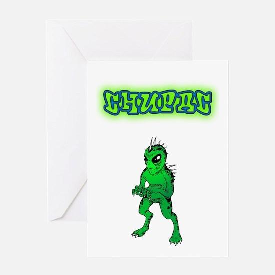 Chupac-Graffiti Greeting Card