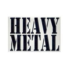 Heavy Metal 1 Rectangle Magnet (10 pack)