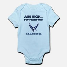 US Air Force Aim High Body Suit
