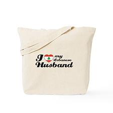 I love my Lebanese Husband Tote Bag