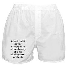 Cute Disappear Boxer Shorts