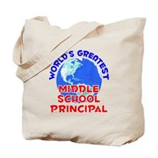 World's Greatest Middl.. (E) Tote Bag