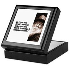 "Whitman ""Contradict"" Keepsake Box"