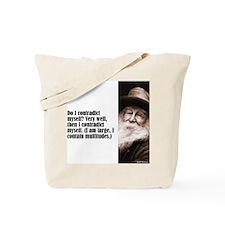 "Whitman ""Contradict"" Tote Bag"
