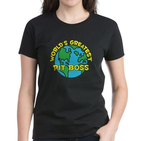 World's Greatest Pit B.. (H) Women's Dark T-Shirt