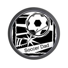Soccer Dad Wall Clock