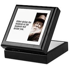 "Whitman ""Define"" Keepsake Box"