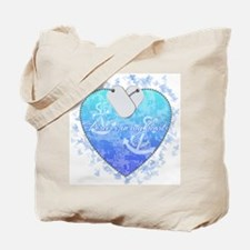 Forever in my heart: USCG Tote Bag