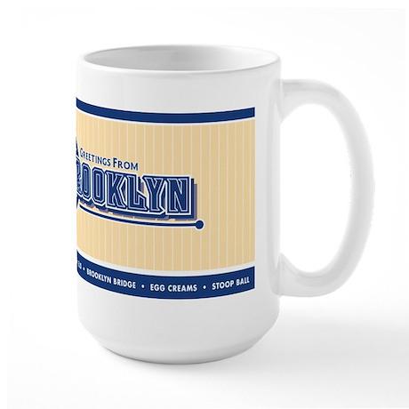 Large Brooklyn Coffee Mug