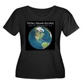 2017 solar eclipse usa Plus Size