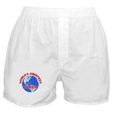 World's Greatest Tuber (F) Boxer Shorts