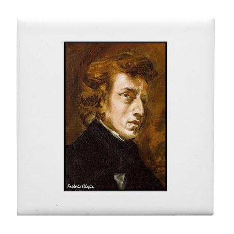 """Faces """"Chopin"""" Tile Coaster"""
