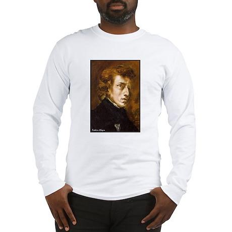 "Faces ""Chopin"" Long Sleeve T-Shirt"