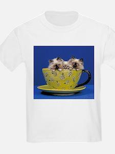 Kittens in a teacup T-Shirt