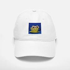 Kittens in a teacup Baseball Baseball Cap