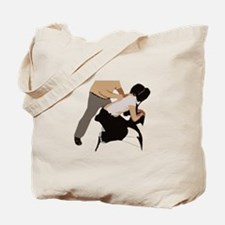 Chair Massage Tote Bag