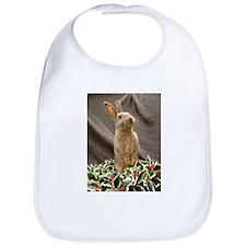 Christmas Bunny Bib