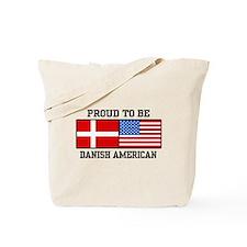 Proud Danish American Tote Bag