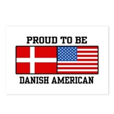 Proud Danish American Postcards (Package of 8)